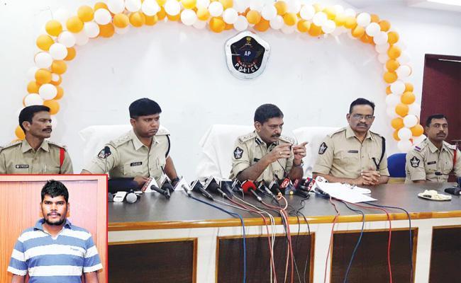 PD Act on Rape Accused In Vizianagaram - Sakshi