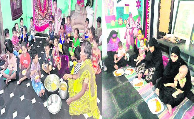 No More Nutritious Food To Children  - Sakshi