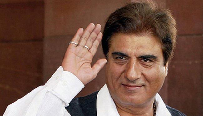 Congress Leader Raj Babbar Calls PM Narendra Modi Amit Shah Gangsters - Sakshi