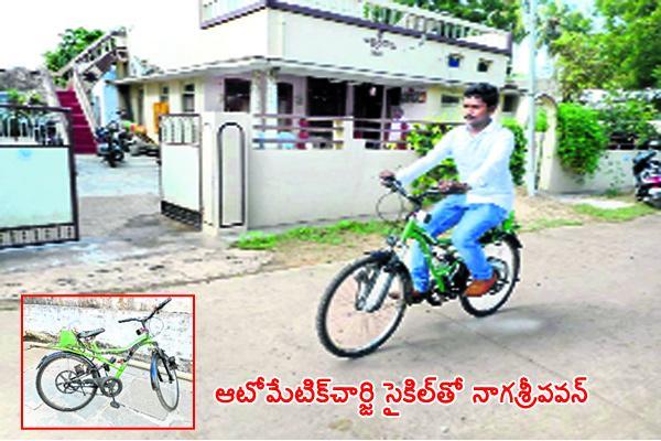 Engineering Student Kambhampati Nagasree Pavan America Tour With  Bicycle - Sakshi