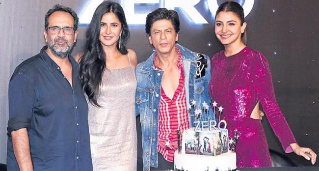 Shah Rukh Khan birthday and Zero trailer launch - Sakshi