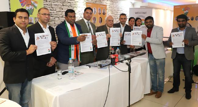 Kapil Sibal attends India overseas congress meeting in London - Sakshi