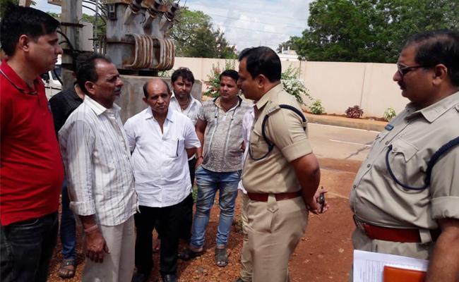 Gun Fire In PSR Nellore - Sakshi