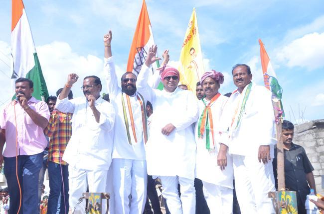 Kundur Janarreddy campaign election In Nagarjuna Sagar - Sakshi