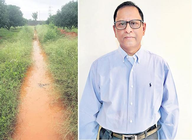 no shortage of water for four years on strenches - Sakshi