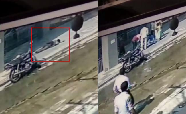 Woman Jumps Off From Metro Station In Kothapet - Sakshi