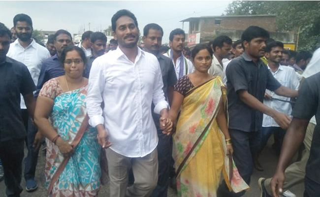 YS Jagan Praja Sankalpa Yatra Continues In Vizianagaram - Sakshi
