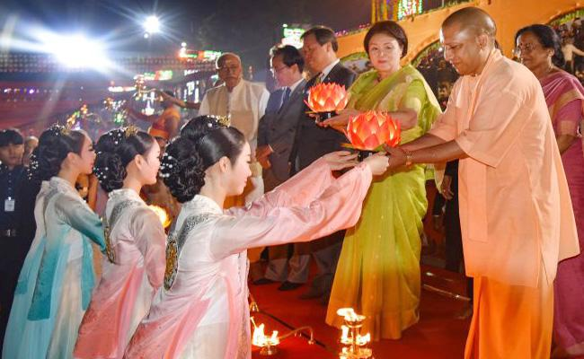 Kim Jung Sook Special Guest For Ayodhya Diwali Celebrations Here Is The Special Reason - Sakshi