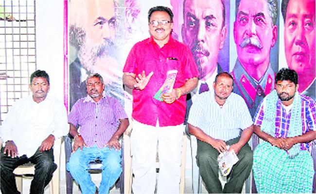 BLF Candidates Asking Votes For Winning - Sakshi