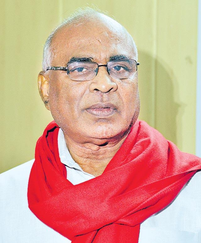 Chada Venkat confident of CPI win - Sakshi