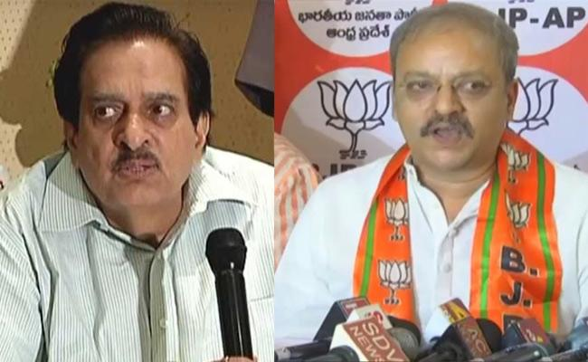 BJP Leader Dinesh Reddy Critics TDP Government - Sakshi