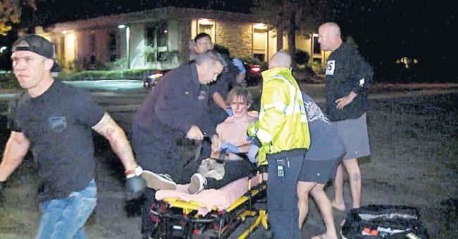 California shooting leaves 12 dead in Thousand Oaks - Sakshi