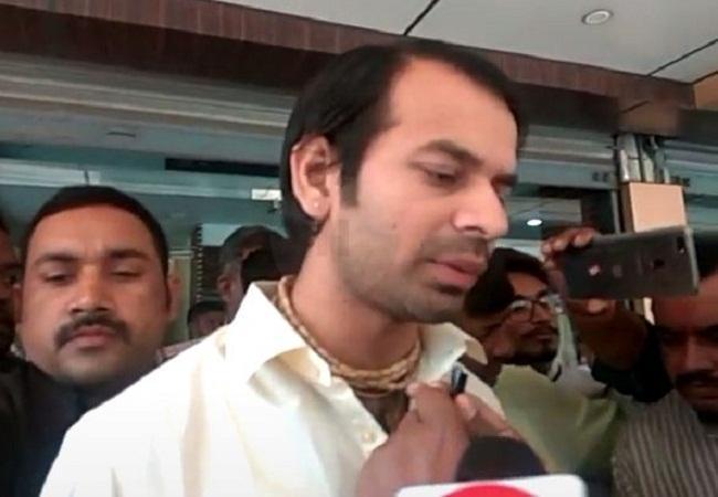 Tej Pratap Yadav Said Will Not Come Home Till Family Backs Divorce Decision - Sakshi