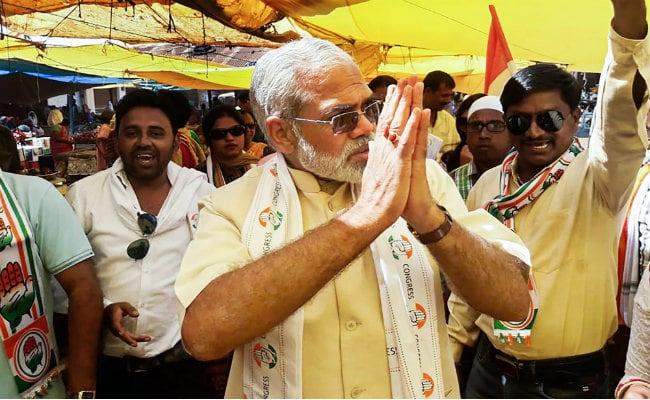 PM Lookalike Who Ditched BJP Ally For Congress - Sakshi