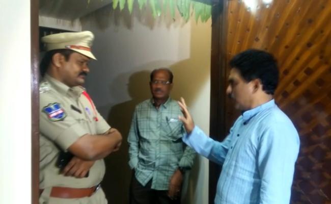 IG Nagi Reddy Fires On Lagadapati Raja Gopal Over Land Dispute - Sakshi