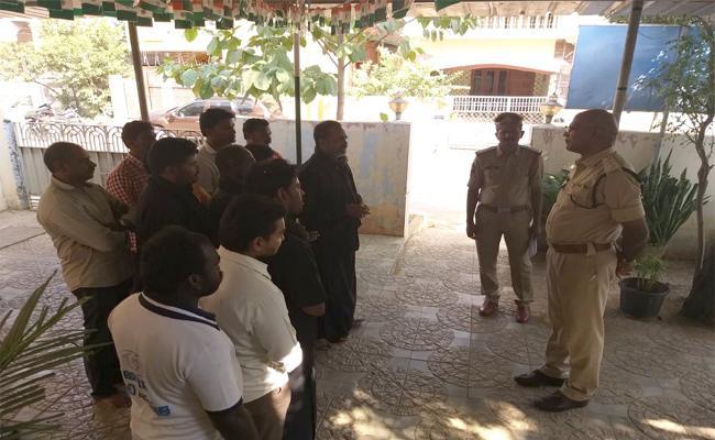 Case Files On 23 Members In Janatha Garage Incident Guntur - Sakshi