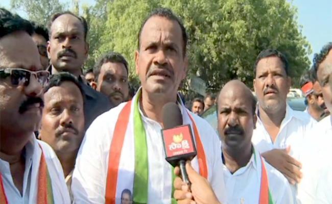 Chirumarthi Lingaiah Demand Nakrekal Seat - Sakshi