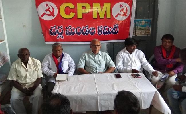 Telangana Elections CPM BV Raghavulu Campaign Khammam - Sakshi