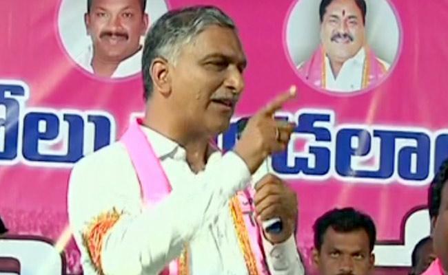Harish Rao Slams Mahakutami Leaders In Wardhannapet Public Meeting - Sakshi