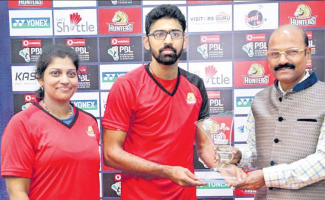 Tejaswini gets Double Dhamaka - Sakshi