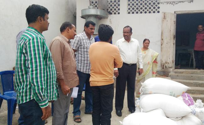 Vigilance Attack on Rice Mills Visakhapatnam - Sakshi