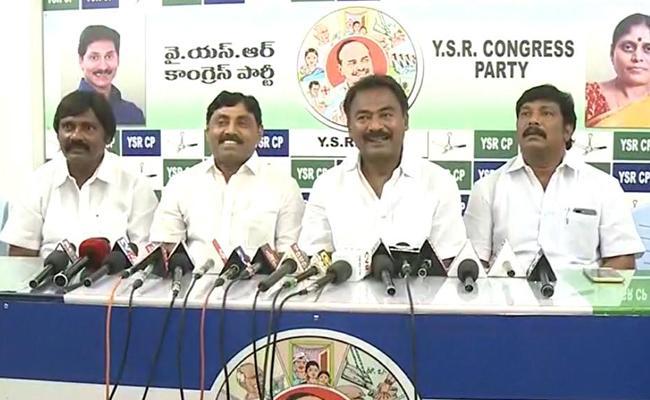 YSRCP Leader Suresh Babu Comments On Adinarayana Reddy - Sakshi