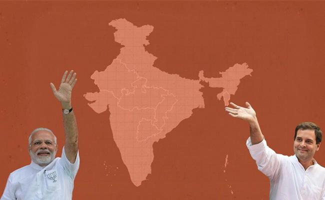 Big loss to BJP in Four State Assembly Elections - Sakshi