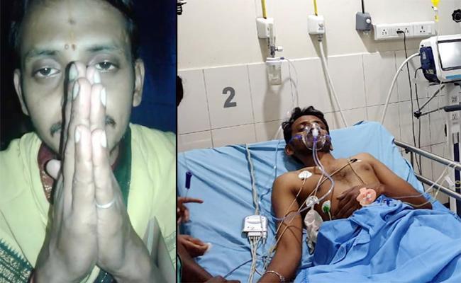 Priest Commits Suicide Attempt in East Godavari - Sakshi