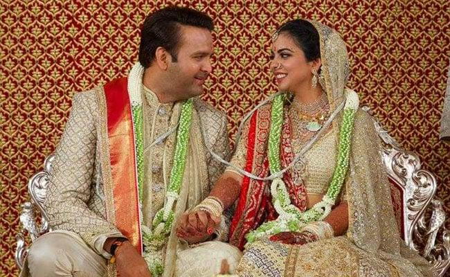 Isha Ambani Wedding - Sakshi