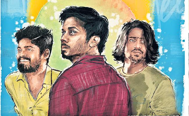 Three BETech Students Travel  Zee 5 Telugu Web Series - Sakshi
