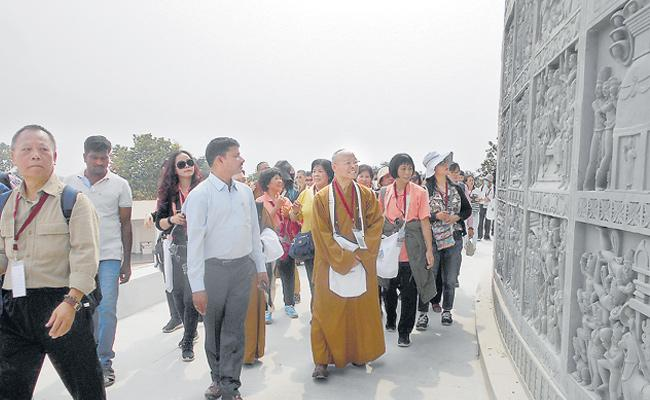 Representatives of Buddhism visited Sagar - Sakshi