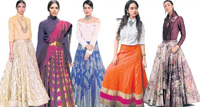 Shirt is completely Indian stylized entirely of our Indian style - Sakshi