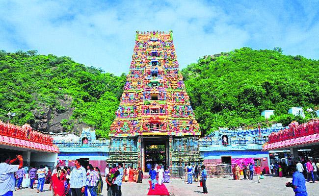 Durga Temple Employees Rejoin in Posts - Sakshi