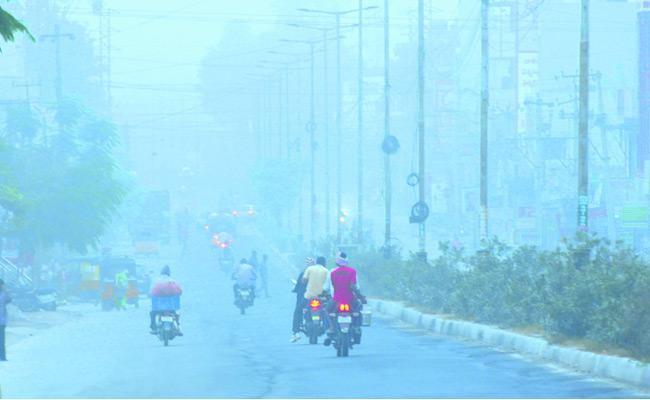 Weather Is Very Cold In Nizamabad - Sakshi