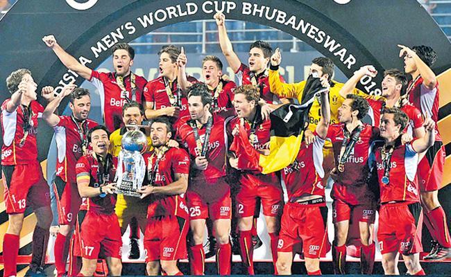 Belgium won  Sadden Death on the Netherlands - Sakshi