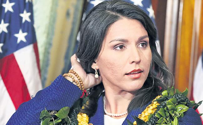 For the doctrine of faith Adherence to philosophy Tulsi Gabbard - Sakshi