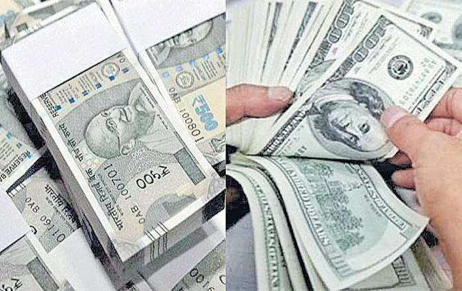 Rupee rises 16 paise to 71.74 against US dollar at interbank foreign exchange - Sakshi