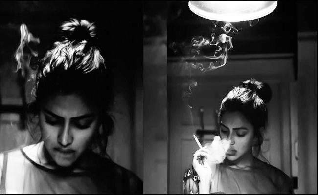 Amala Paul Smoking Photo Viral In Social media - Sakshi