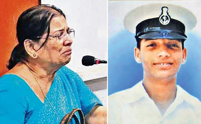 A Mother Fight to Get Justice for Her Son - Sakshi