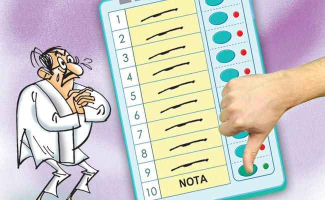 ABK Prasad Article On NOTA Votes - Sakshi