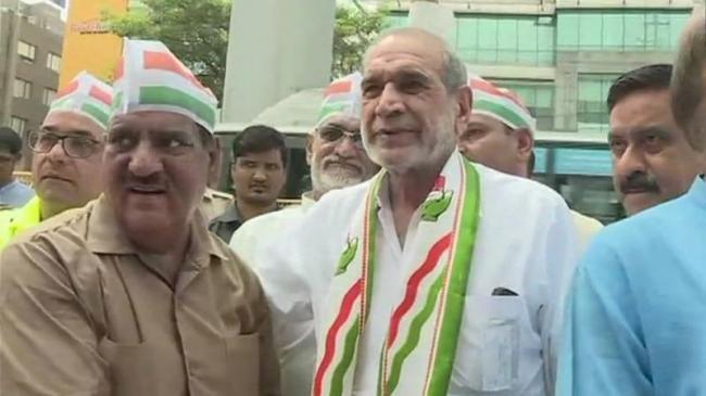 Sajjan Kumar Resigns From Congress - Sakshi