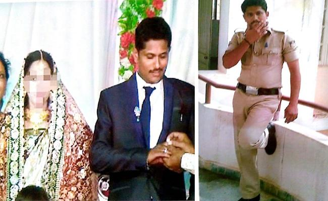 Constable Harassment to Pregnant Wife For Extra Dowry karnataka - Sakshi