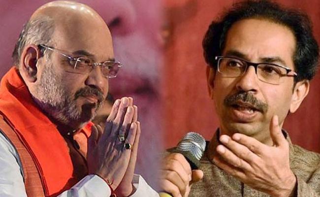 Shiv Sena With Me For Next Lok Sabha Elections Says Amit Shah - Sakshi