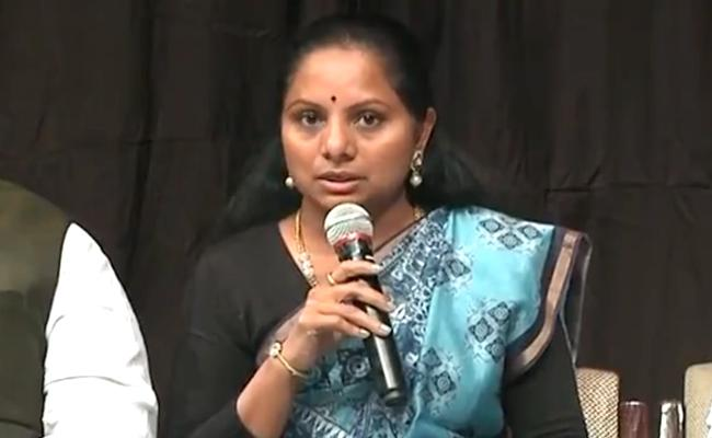 federal front would become a reality, says MP Kavitha - Sakshi