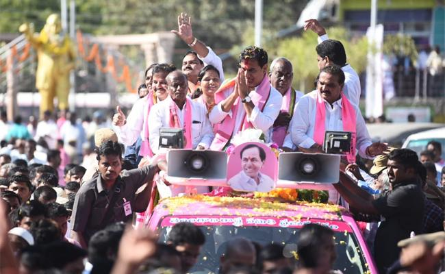Thanks To The People Of Siricilla Assembly Constituency Said By KTR - Sakshi