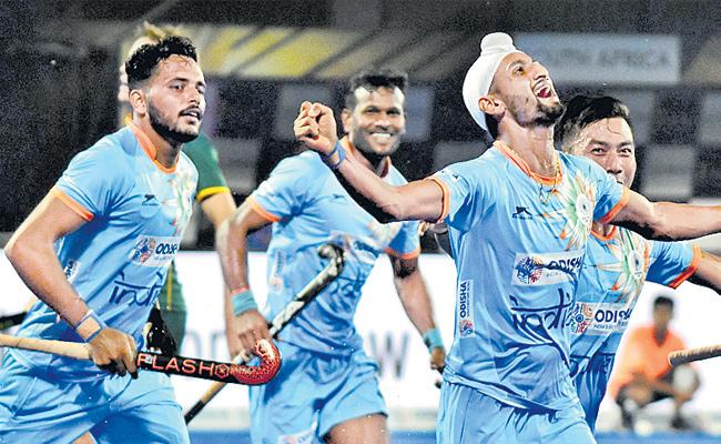 Hockey World Cup: Ahead of Belgium pre-quarters - Sakshi