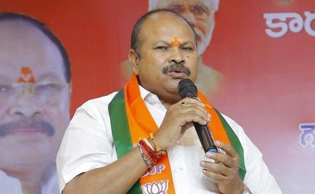 AP BJP Chief Kanna Laxminarayana Fires on Mahakutami - Sakshi