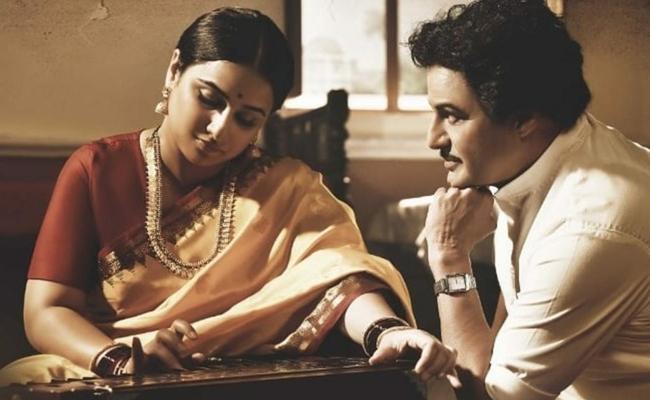 Ntr Biopic Vidya Balan Look - Sakshi