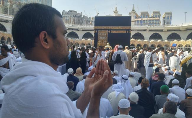 Muslims offers prayers for Ys Jagan in Mecca - Sakshi