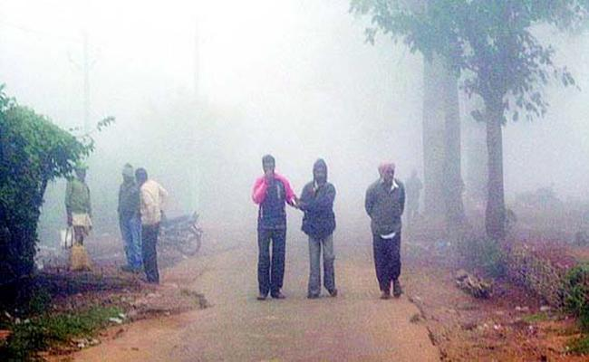 Elders And Child Suffering With Low Temperatures - Sakshi